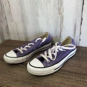 Purple Converse Size 6 💜